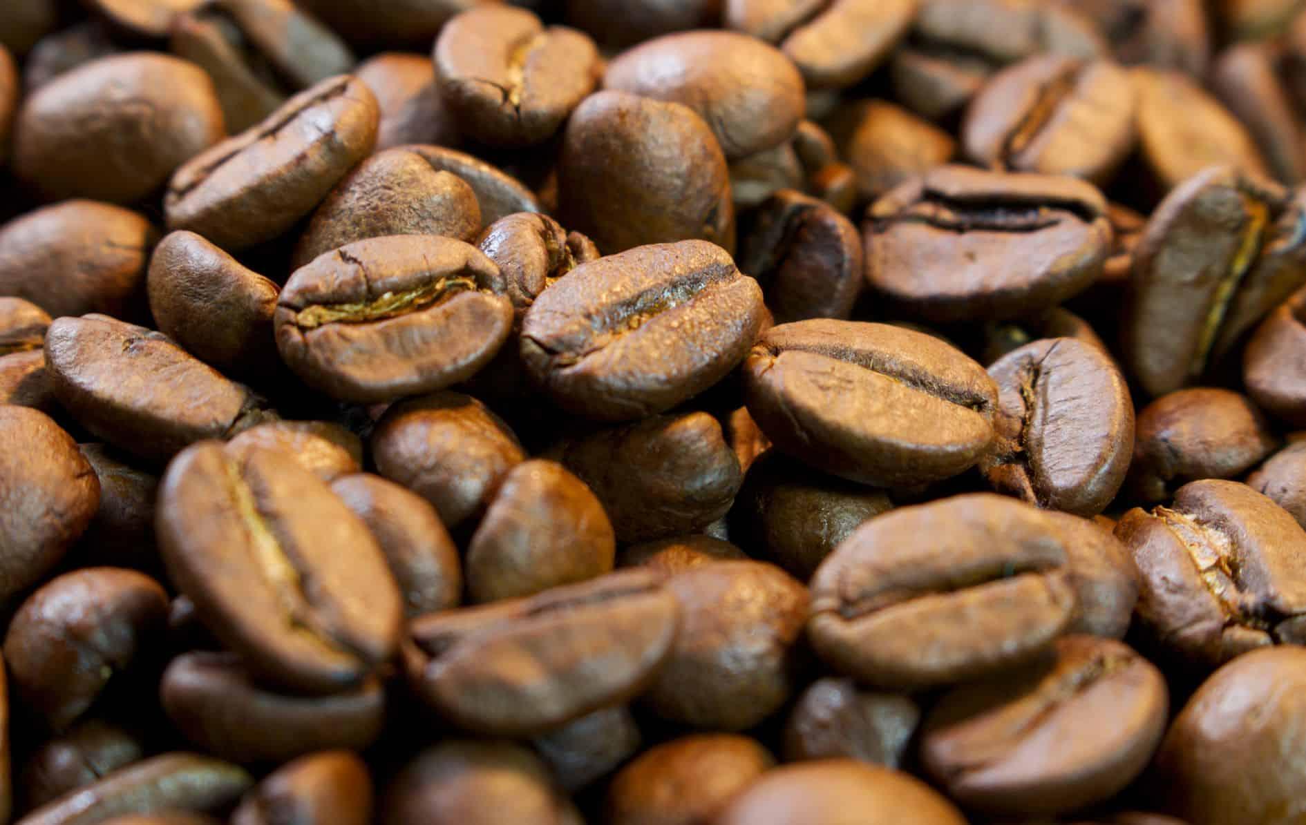 Gerösteter Kaffee