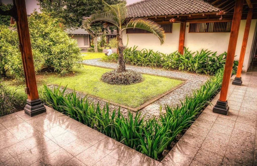 Ein Asiengarten