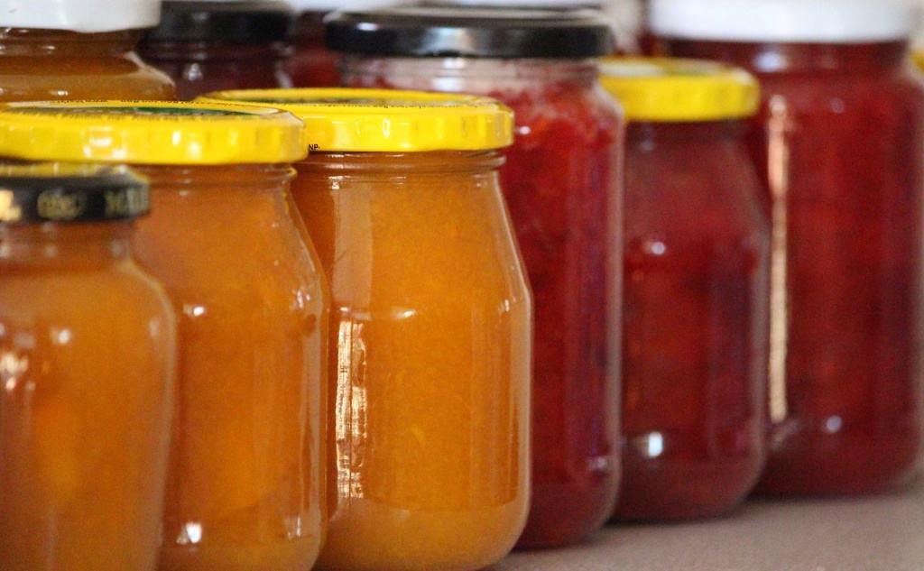 Verschiedene Marmeladen