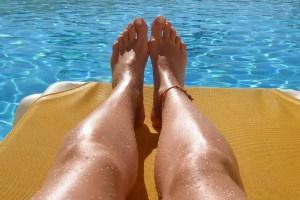Sonnenbaden, aber richtig