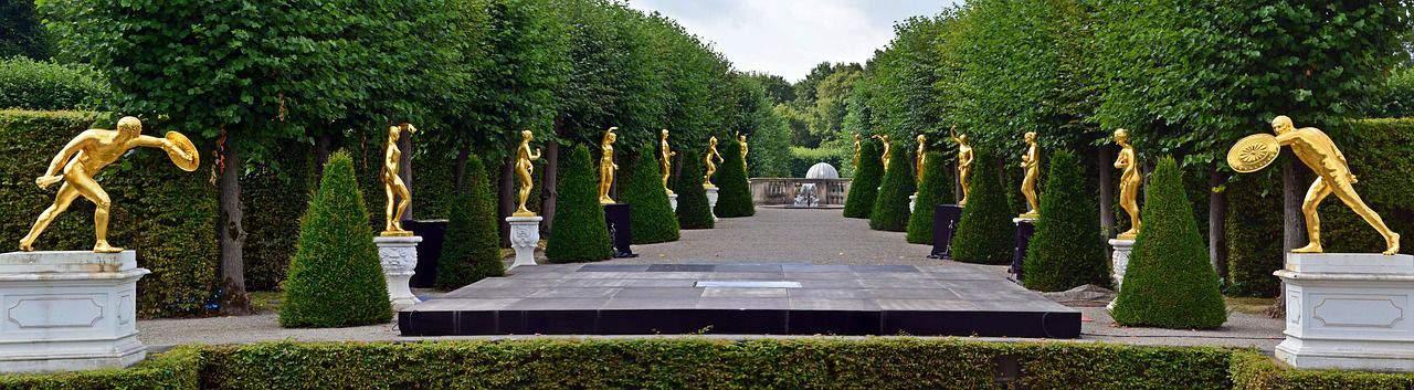 Blick in die Herrenhäuser Gärten