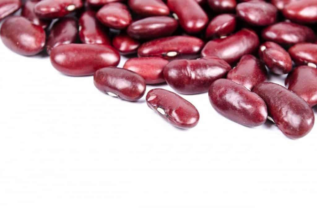 Rote Kidneybohnen