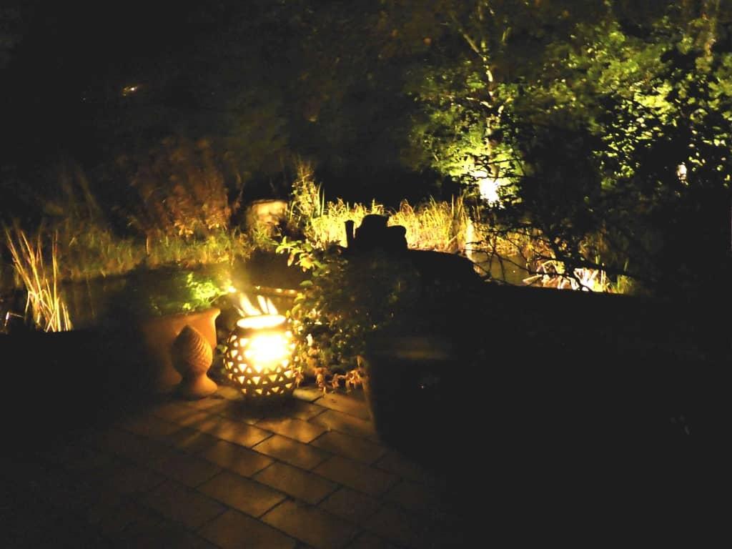 Eine stimmungsvolle Gartenbeleuchtung
