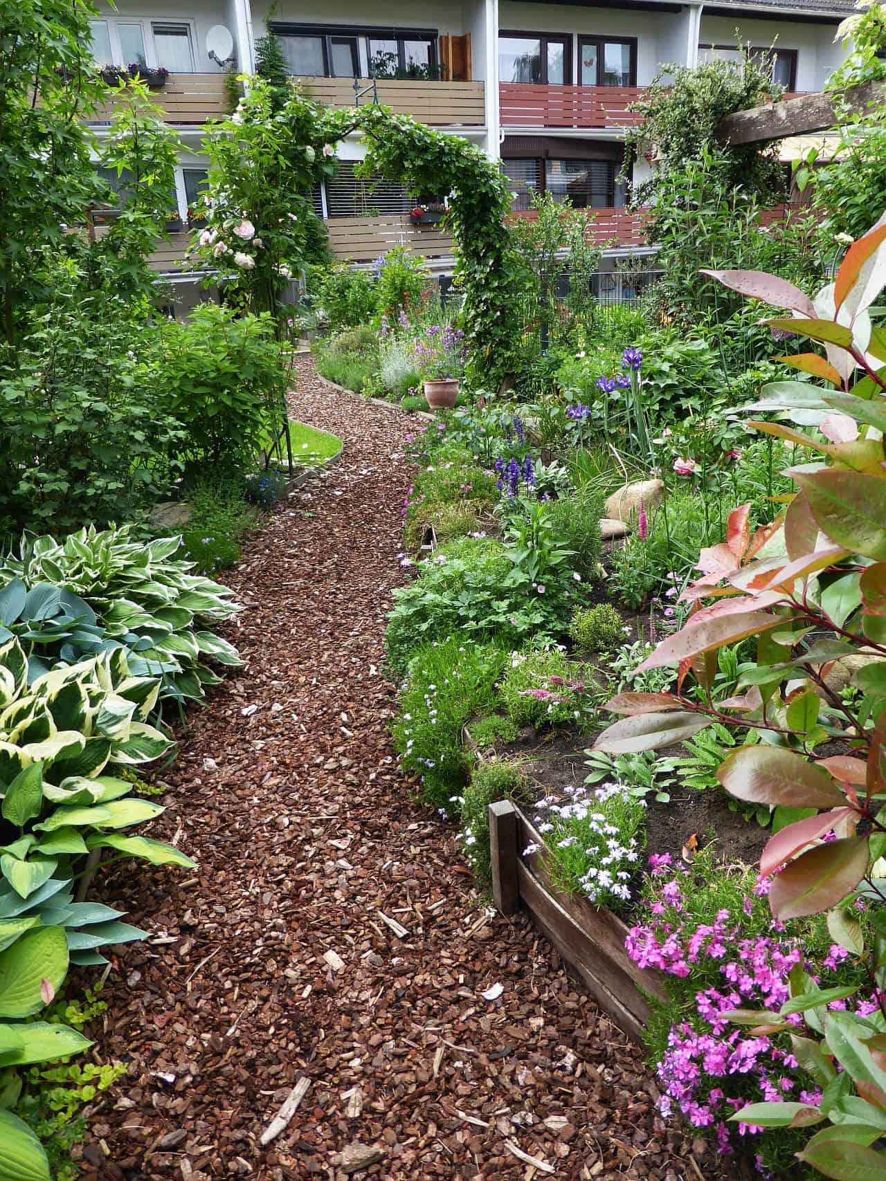 gartenplanung kleine gärten gartenplanung – kleine gärten optisch vergrößern - nachgeharkt