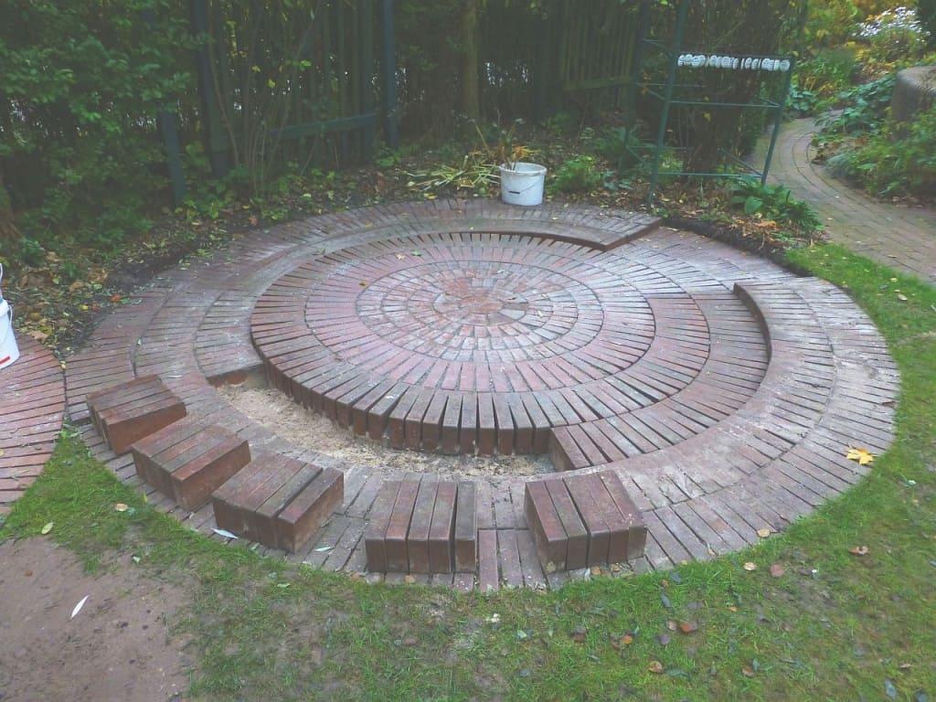 Die Renovierung eines Rondells