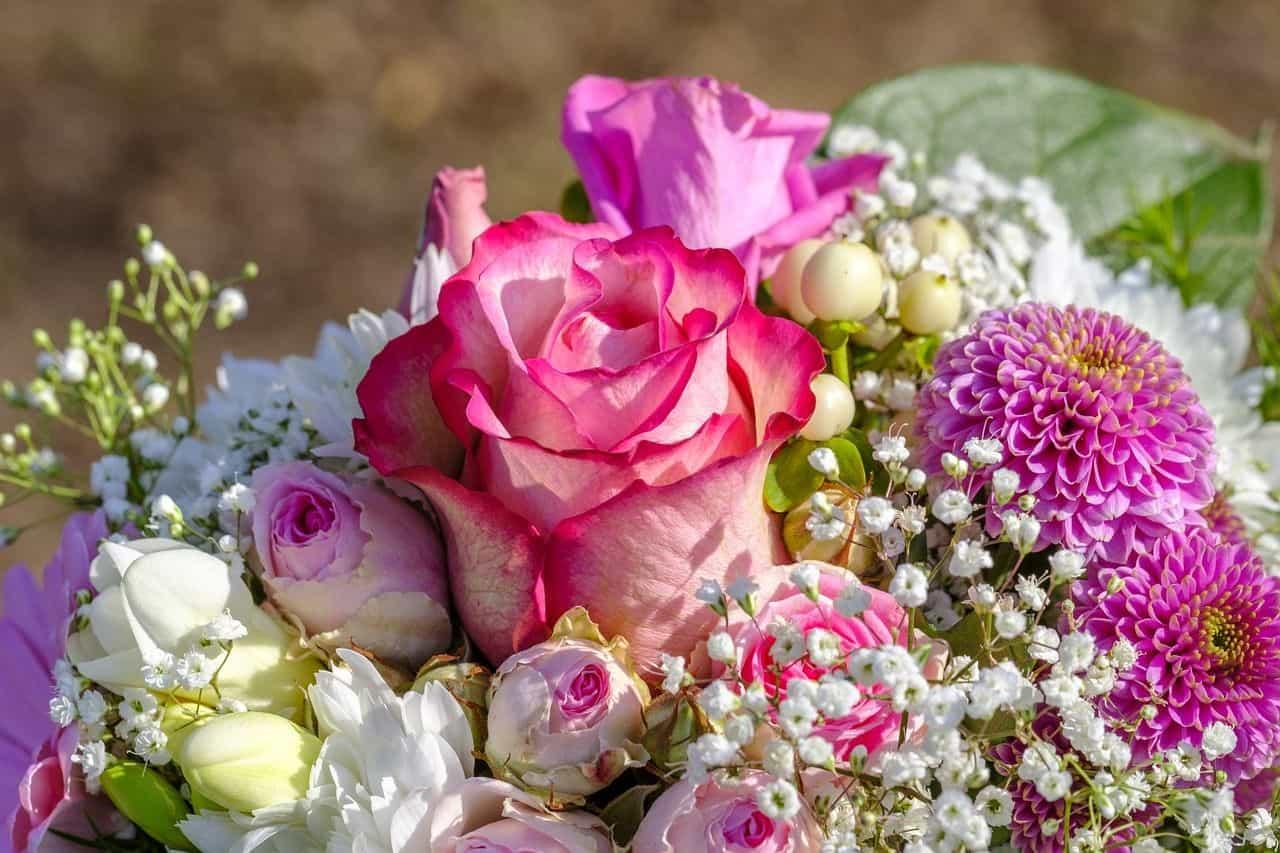 Ein hübscher Brautstrauß