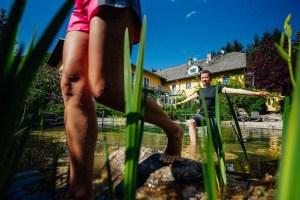 Einen Schwimmteich oder einen Naturpool errichten