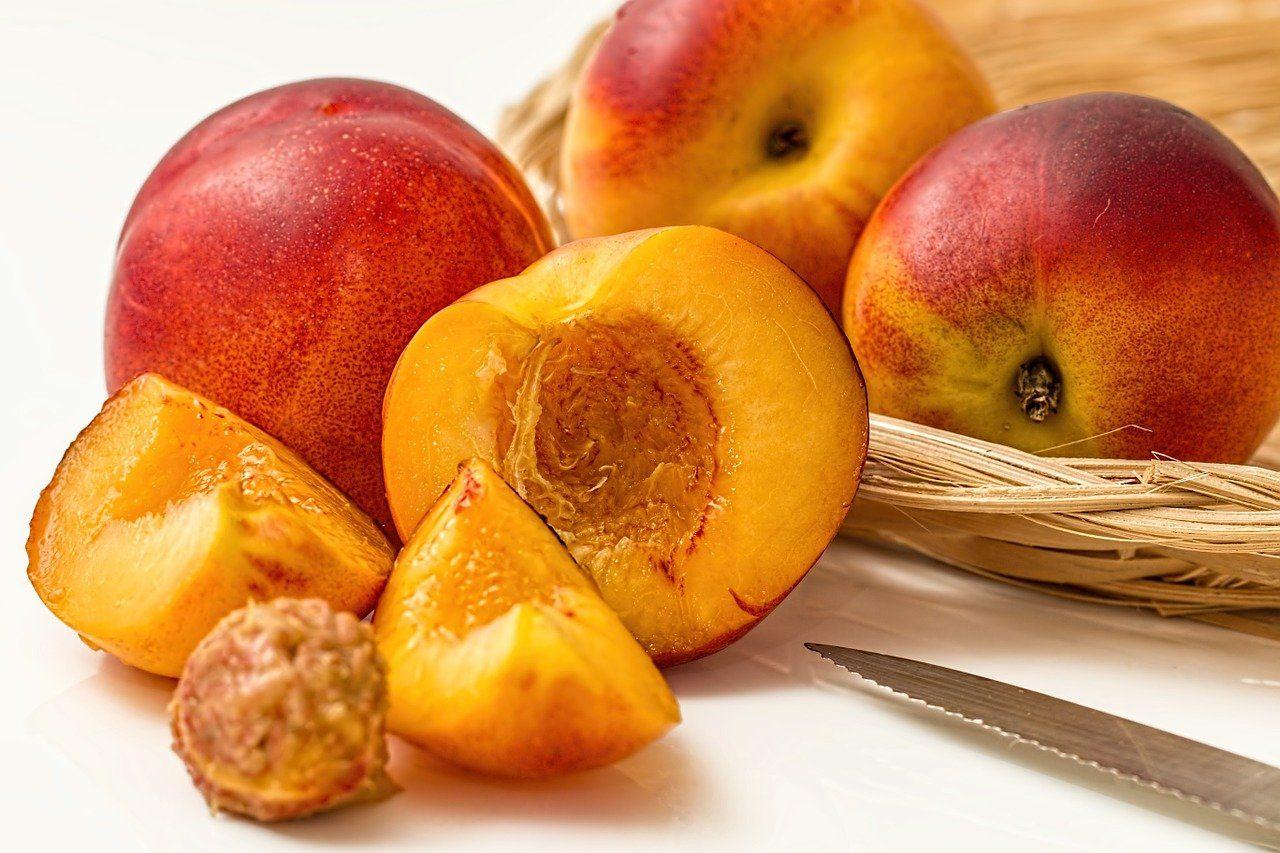 Pfirsiche aus dem eigenen Garten