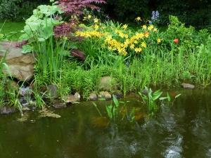 Kühle Gartenplätze im heißen Sommer